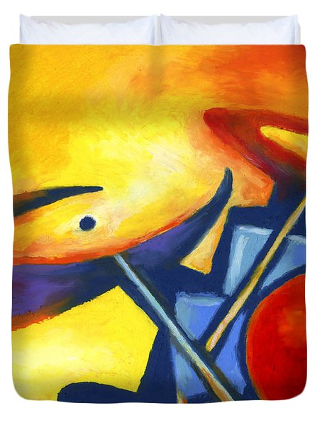 Soul Mates Duvet Cover by Stephen Anderson