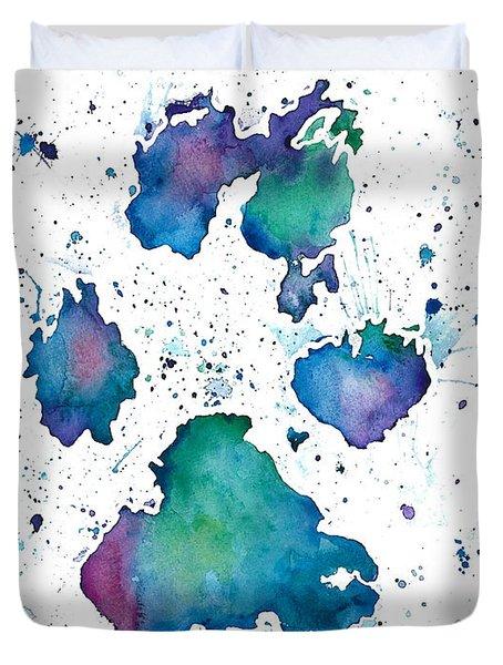 Soul Print Duvet Cover