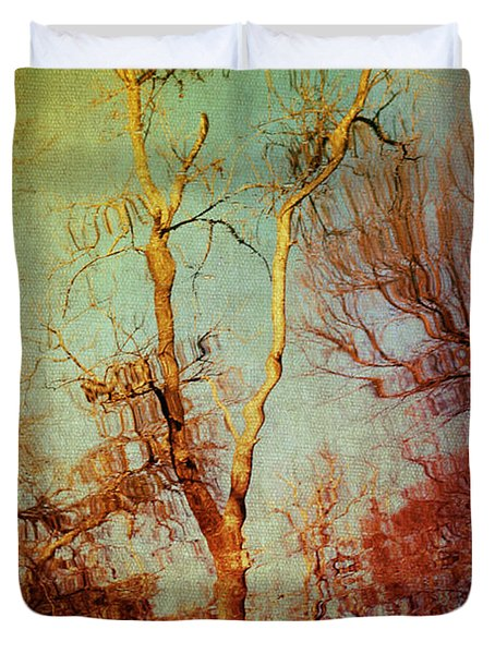 Souls Of Trees Duvet Cover by Trish Mistric