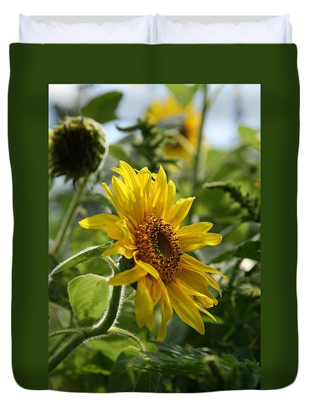 Duvet Cover featuring the photograph Soulshine No.2 by Neal Eslinger