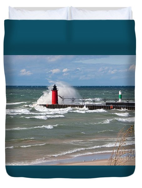 South Haven Splash Duvet Cover