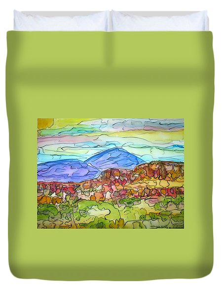 South Mesa Freestyle Duvet Cover