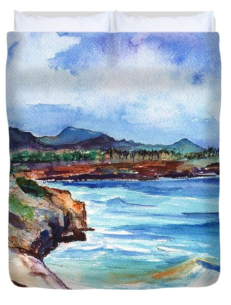 South Shore Hike Duvet Cover