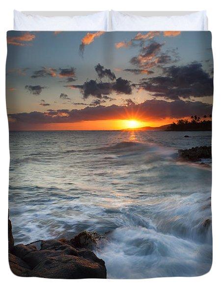 South Shore Waves Duvet Cover