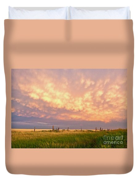 Southeastern New Mexico Duvet Cover