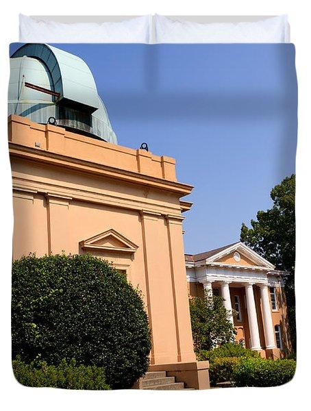 Southeastern Us Observatory Duvet Cover