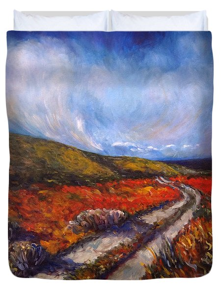 Southern California Road Duvet Cover