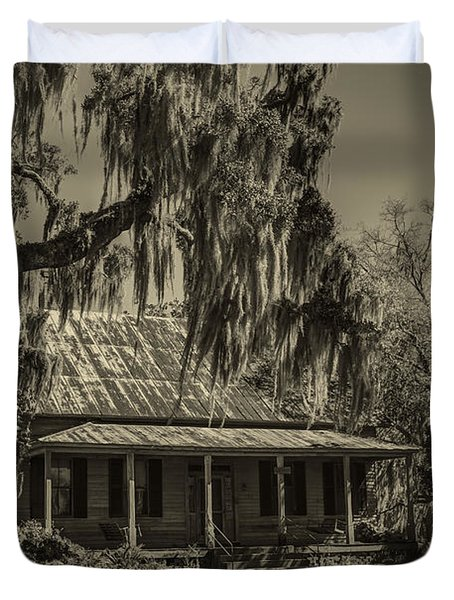 Southern Comfort Antique Duvet Cover by Debra and Dave Vanderlaan
