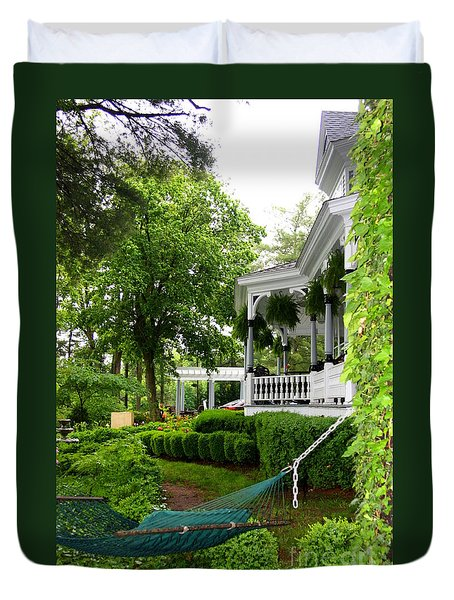 Southern Hospitality Duvet Cover by Patti Whitten