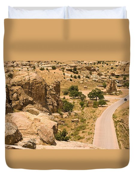 Southern Mesa View Duvet Cover