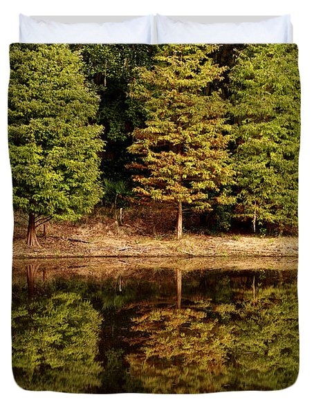 Southern Reflections Duvet Cover by Phill Doherty