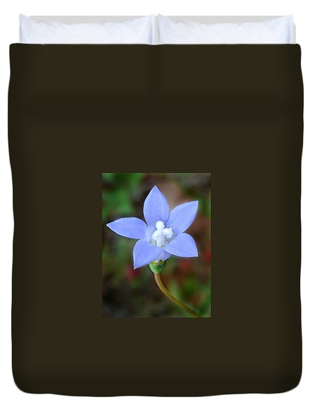Wild Southern Rockbell  Duvet Cover by William Tanneberger