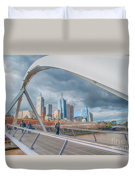 Southgate Bridge Duvet Cover