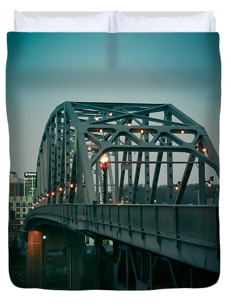 Southside Bridge  Duvet Cover