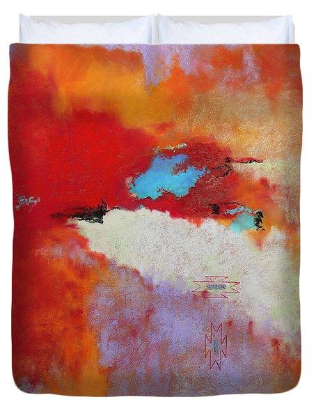 Southwest Color Burst Duvet Cover