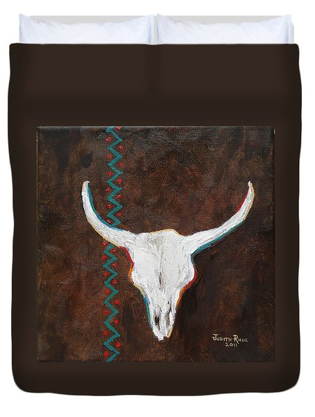 Southwestern Influence Duvet Cover by Judith Rhue