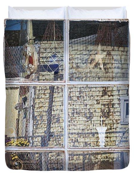 Souvenir Store Window Duvet Cover by Elena Elisseeva