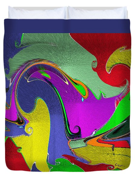 Space Interface Duvet Cover