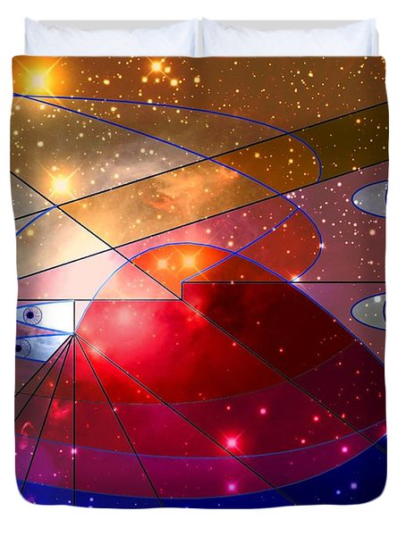 Space Odyssey 08 Duvet Cover