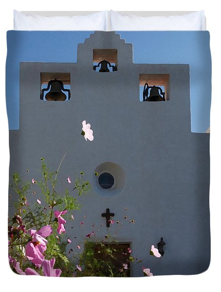 Spanish Mission Duvet Cover