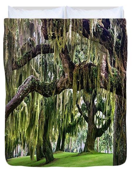 Spanish Moss Duvet Cover