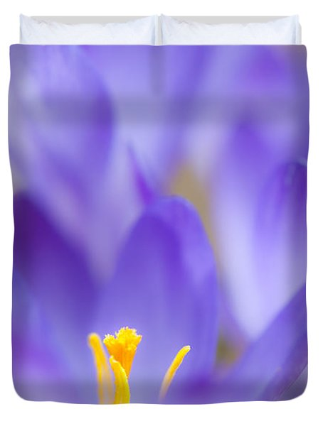 Spark Of Spring Duvet Cover
