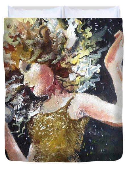 Sparkle Duvet Cover by Alana Meyers