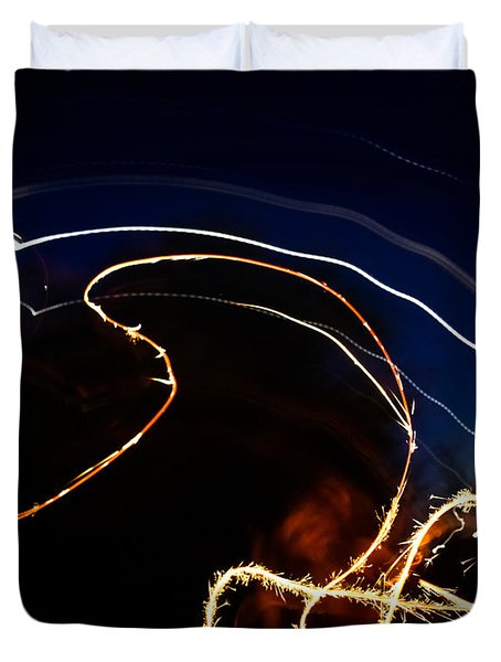 Sparkler Duvet Cover by Joel Loftus
