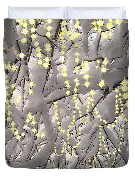 Sparkling Christmas Duvet Cover