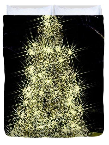 Sparkling Tree Duvet Cover