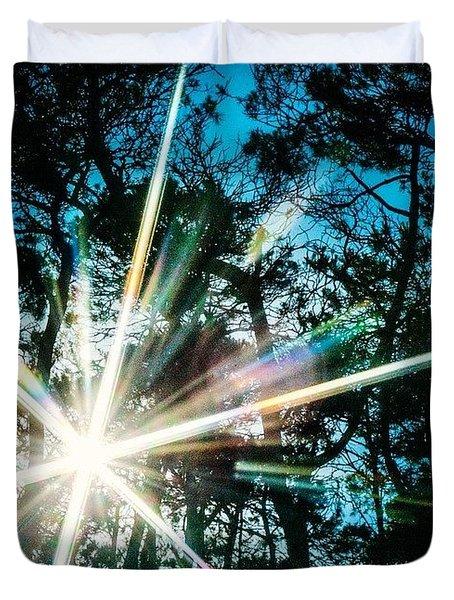 Sparks Fly Duvet Cover