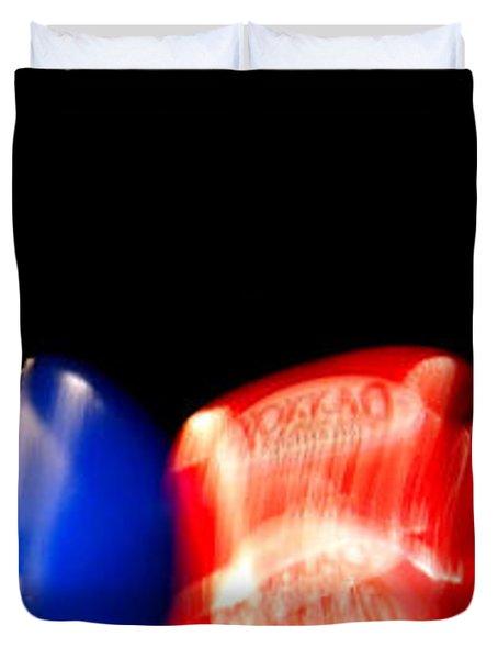 Sparring Duvet Cover by Kaleidoscopik Photography