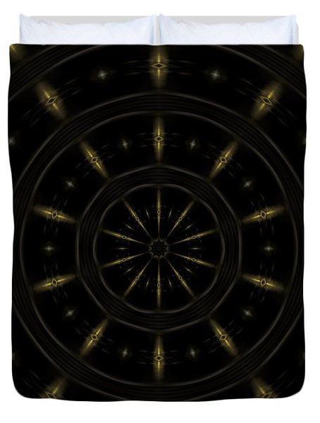 Spatial Abstract Background Pattern Duvet Cover by Jose Elias - Sofia Pereira