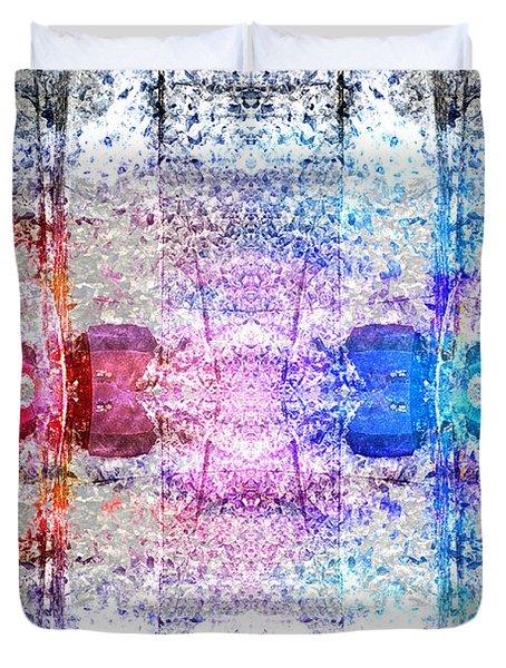 Speakers 3 Duvet Cover