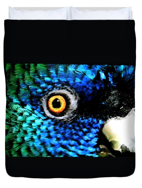 Speaking Eye  Duvet Cover