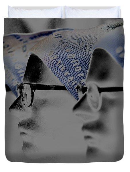 Spec Glasses  Duvet Cover by Tommytechno Sweden