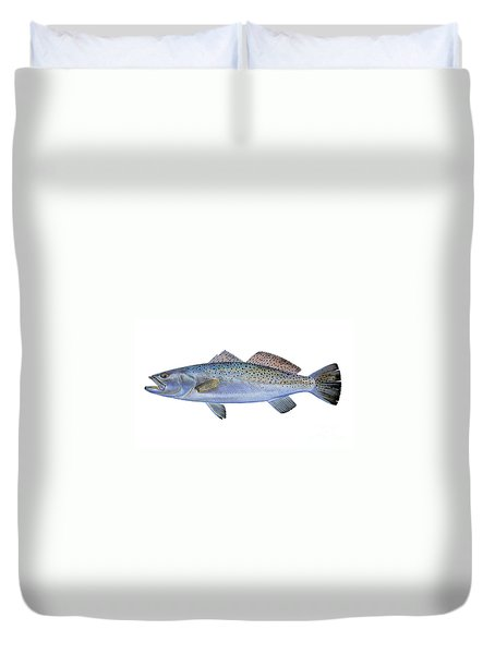 Speckled Trout Duvet Cover