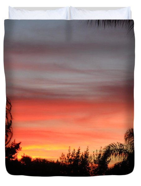 Spectacular Sky View Duvet Cover