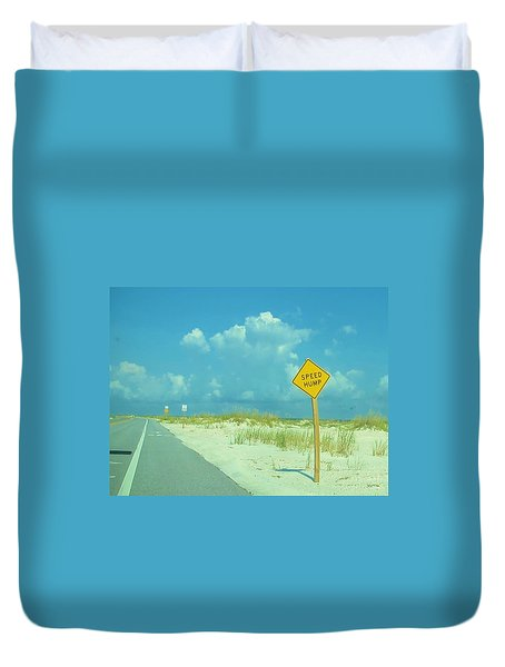 Speed Hump Duvet Cover