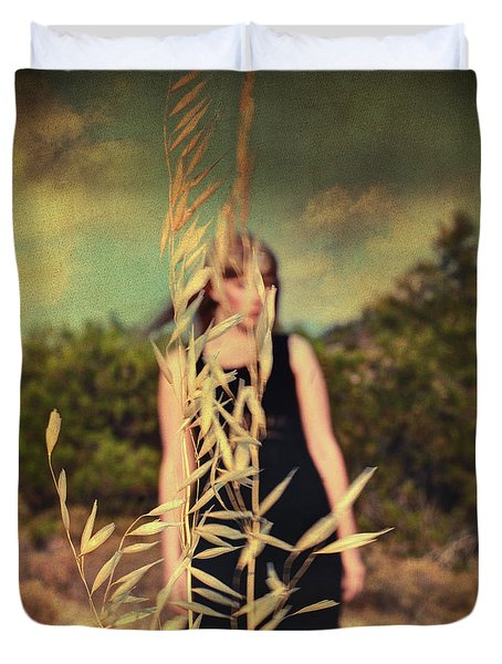 Spell Duvet Cover by Taylan Apukovska