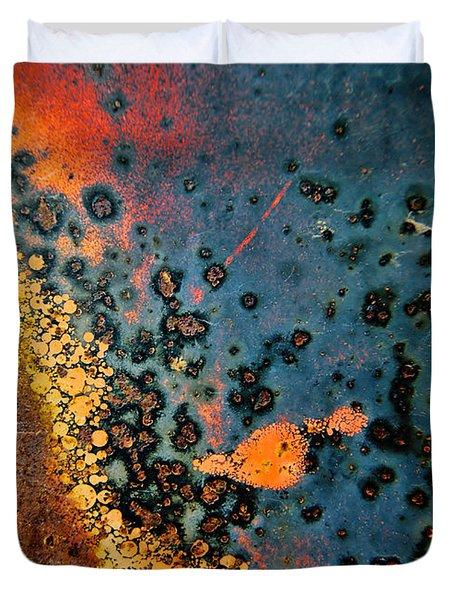Spew Duvet Cover by Leanna Lomanski