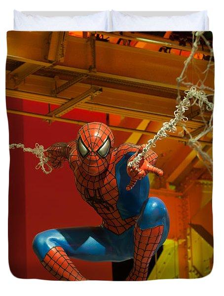 Spider Man Duvet Cover