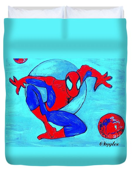 Spider-man  Duvet Cover