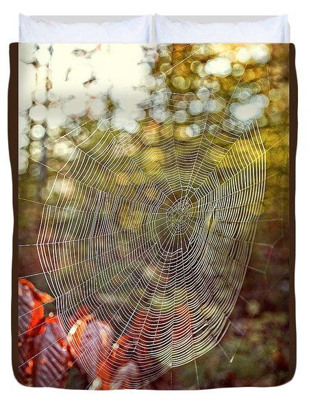 Spider Web Duvet Cover