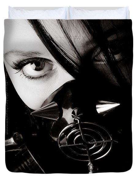 Spiked Mask Duvet Cover