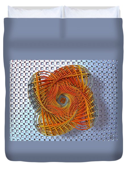 Spin State IIi Duvet Cover