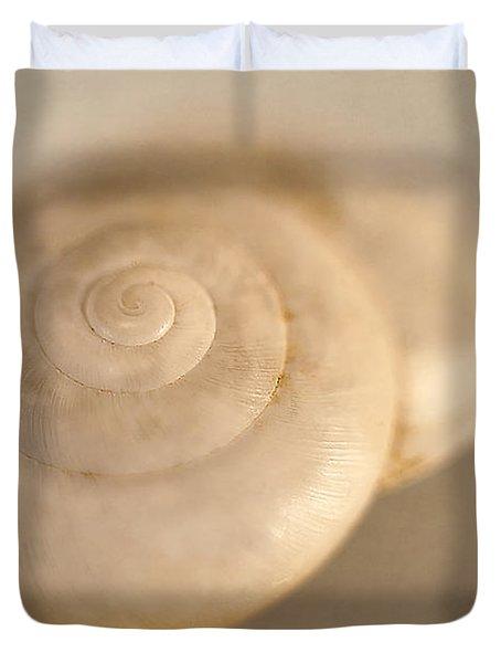 Spiral Shell 2 Duvet Cover