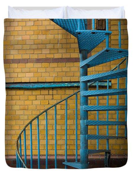 Spiral Staircase Duvet Cover by Inge Johnsson