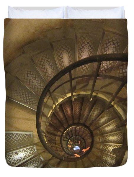 Spiral Staircase Duvet Cover by Pema Hou