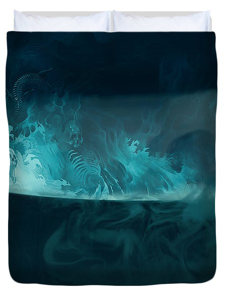 Spirit Brew Duvet Cover by Juli Scalzi
